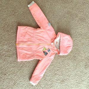 Toddler girl autumn - winter jacket. Size 2T